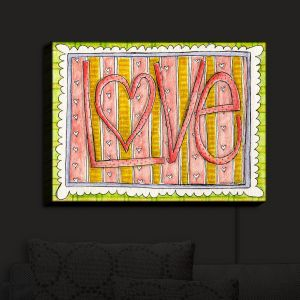 Nightlight Sconce Canvas Light | Marley Ungaro - Love | Love Quotes Sayings Inspiring
