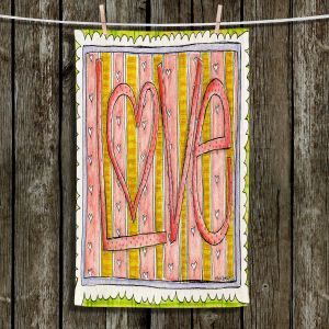 Unique Hanging Tea Towels | Marley Ungaro - Love | Love Quotes Sayings Inspiring