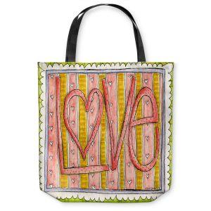 Unique Shoulder Bag Tote Bags | Marley Ungaro - Love