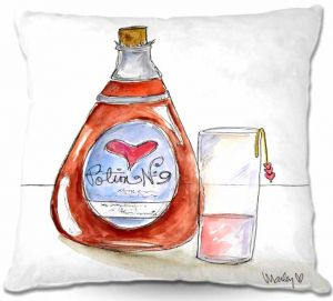Throw Pillows Decorative Artistic | Marley Ungaro Love Potion No. 9