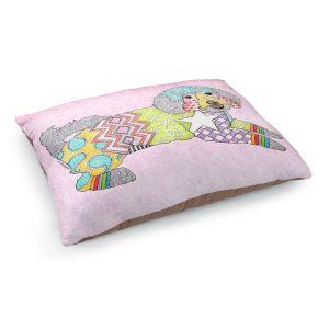 Decorative Dog Pet Beds | Marley Ungaro - Maltipoo Pastel Pink