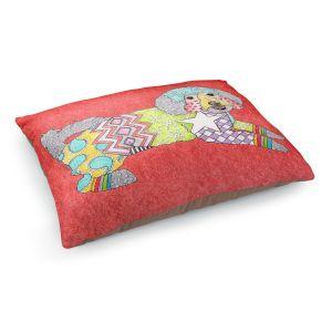 Decorative Dog Pet Beds | Marley Ungaro - Maltipoo Watermelon