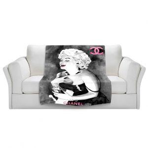 Artistic Sherpa Pile Blankets   Marley Ungaro Marilyn V