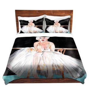 Artistic Duvet Covers and Shams Bedding | Marley Ungaro - Marilyn Ballerina