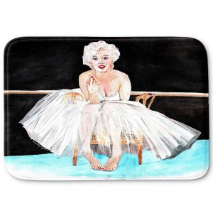 Decorative Bathroom Mats | Marley Ungaro - Marilyn Ballerina