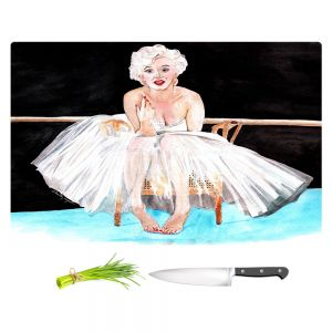 Artistic Kitchen Bar Cutting Boards | Marley Ungaro - Marilyn Ballerina
