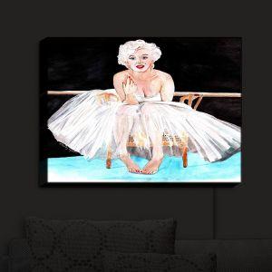 Nightlight Sconce Canvas Light   Marley Ungaro's Marilyn Ballerina