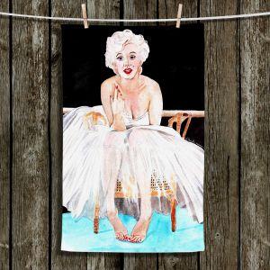 Unique Hanging Tea Towels | Marley Ungaro - Marilyn Ballerina | Marilyn Monroe Ballerina