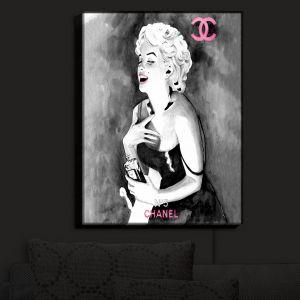 Nightlight Sconce Canvas Light   Marley Ungaro's Marilyn V