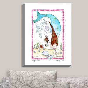 Decorative Canvas Wall Art | Marley Ungaro - Mining Mermaid