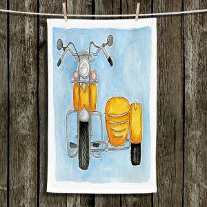 Unique Hanging Tea Towels | Marley Ungaro - Motor Bike
