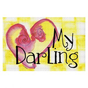 Decorative Floor Coverings | Marley Ungaro - My Darling Yellow
