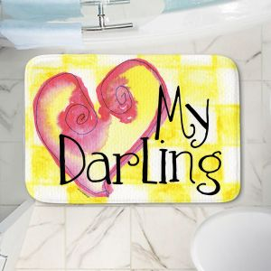 Decorative Bathroom Mats | Marley Ungaro - My Darling Yellow