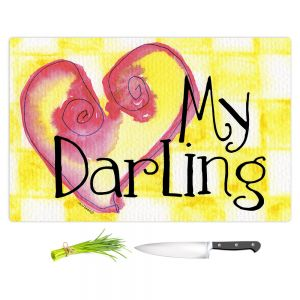 Artistic Kitchen Bar Cutting Boards | Marley Ungaro - My Darling Yellow