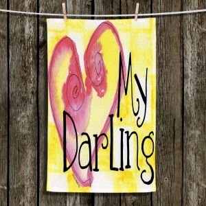 Unique Bathroom Towels | Marley Ungaro - My Darling Yellow