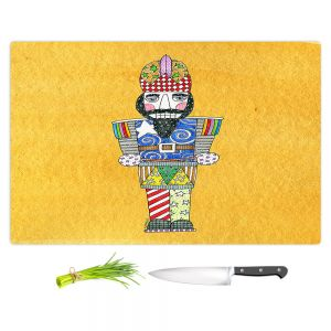 Artistic Kitchen Bar Cutting Boards | Marley Ungaro - Nutcracker Gold | Holidays Nutcracker Christmas Tradition