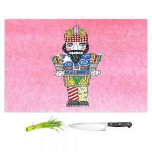 Artistic Kitchen Bar Cutting Boards | Marley Ungaro - Nutcracker Light Pink | Holidays Nutcracker Christmas Tradition