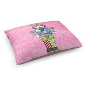 Decorative Dog Pet Beds   Marley Ungaro - Nutcracker Light Pink   Holidays Nutcracker Christmas Tradition