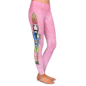 Casual Comfortable Leggings | Marley Ungaro - Nutcracker Light Pink | Holidays Nutcracker Christmas Tradition