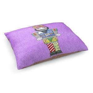 Decorative Dog Pet Beds   Marley Ungaro - Nutcracker Violet   Holidays Nutcracker Christmas Tradition