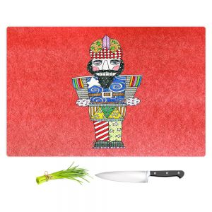 Artistic Kitchen Bar Cutting Boards | Marley Ungaro - Nutcracker Watermelon | Holidays Nutcracker Christmas Tradition