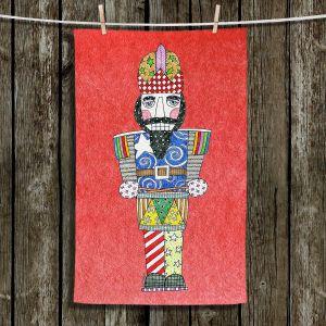 Unique Hanging Tea Towels | Marley Ungaro - Nutcracker Watermelon | Holidays Nutcracker Christmas Tradition