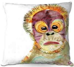 Throw Pillows Decorative Artistic   Marley Ungaro - Orangutan
