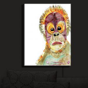 Nightlight Sconce Canvas Light | Marley Ungaro's Orangutan