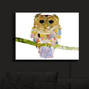 Nightlight Sconce Canvas Light | Marley Ungaro's Owl