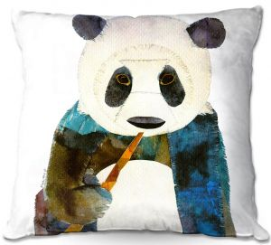 Throw Pillows Decorative Artistic | Marley Ungaro Panda