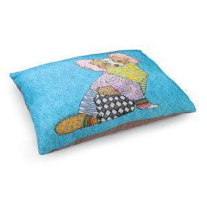 Decorative Dog Pet Beds | Marley Ungaro - Papillon Aqua