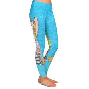 Casual Comfortable Leggings | Marley Ungaro - Papillon Aqua
