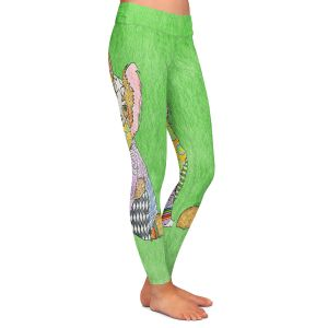 Casual Comfortable Leggings | Marley Ungaro - Papillon Green