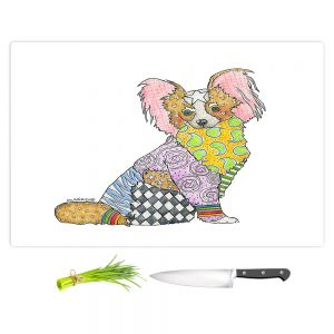 Artistic Kitchen Bar Cutting Boards | Marley Ungaro - Papillon White