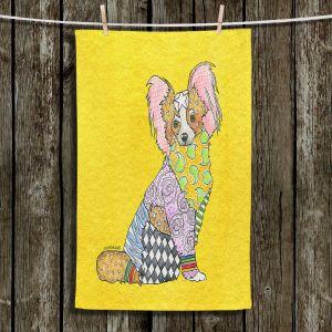 Unique Bathroom Towels | Marley Ungaro - Papillon Yellow