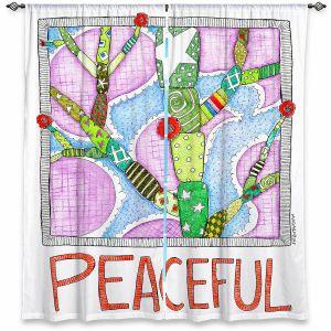 Decorative Window Treatments | Marley Ungaro - Peaceful Flowers | Floral Inspiration