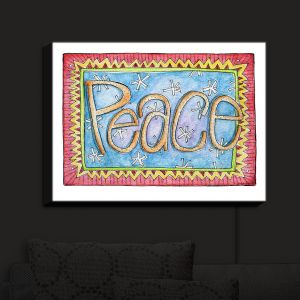 Nightlight Sconce Canvas Light | Marley Ungaro - Peace