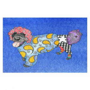 Decorative Floor Coverings | Marley Ungaro - Portuguese Water Dog Blue