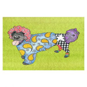 Decorative Floor Coverings   Marley Ungaro - Portuguese Water Dog Lime