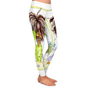Casual Comfortable Leggings | Marley Ungaro Praying Mermaid