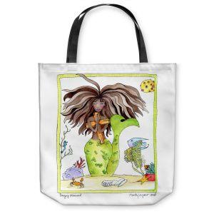 Unique Shoulder Bag Tote Bags | Marley Ungaro Praying Mermaid