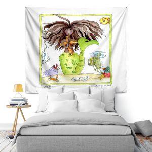 Artistic Wall Tapestry | Marley Ungaro Praying Mermaid