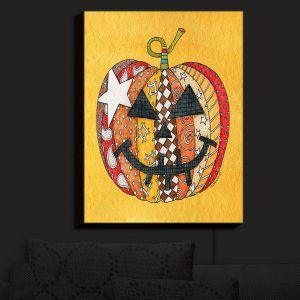 Nightlight Sconce Canvas Light | Marley Ungaro - Pumpkin Gold