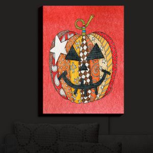 Nightlight Sconce Canvas Light | Marley Ungaro - Pumpkin Watermelon