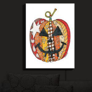 Nightlight Sconce Canvas Light | Marley Ungaro - Pumpkin White