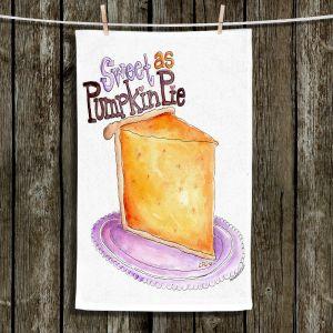 Unique Bathroom Towels   Marley Ungaro - Pumpkin Pie   still life food sweets dessert