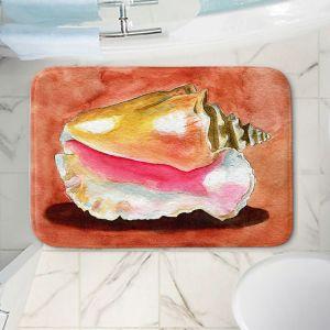 Decorative Bathroom Mats | Marley Ungaro - Queen Conch | Ocean seashell still life nature