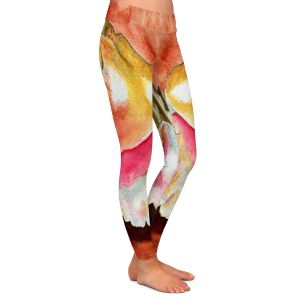 Casual Comfortable Leggings | Marley Ungaro - Queen Conch | Ocean seashell still life nature