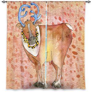 Decorative Window Treatments | Marley Ungaro Reindeer Buckskin
