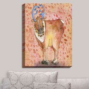 Decorative Canvas Wall Art | Marley Ungaro - Reindeer Buckskin